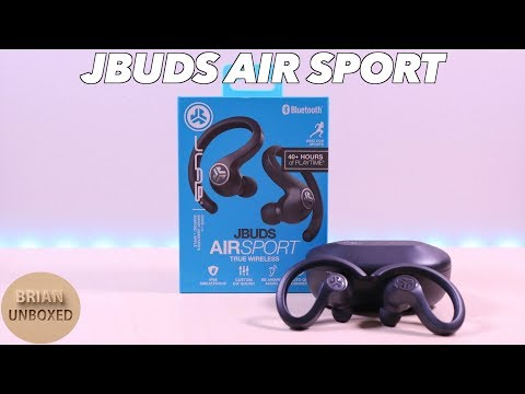 JLab JBuds Air Sport - Perfect for active lifestyles! (Full Review)