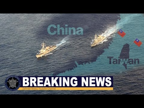 Amid tensions with China | US Navy ships pass through Taiwan Strait