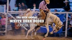 The 60th Annual White Deer Rodeo 2018