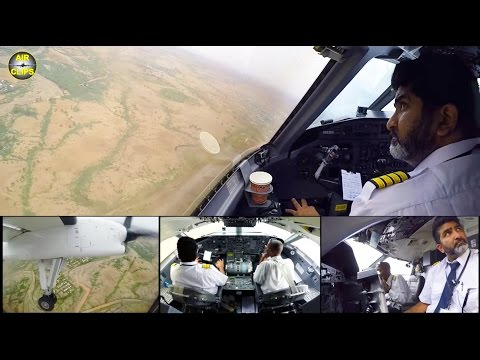 ALS Dash 8 ULTIMATE COCKPIT MOVIE 1 Of 2: Nairobi-Kakuma! [AirClips Full Flight Series]