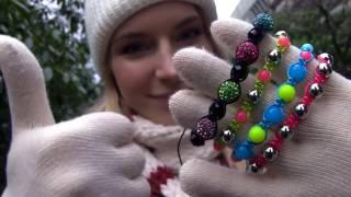 sarabeautycorner DIY Shamballa Bracelet! How To Make Macrame Bracelets 2016