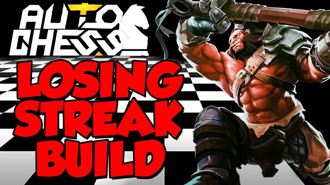 LOSING STREAK BUILD - Auto Chess Dota 2 Gameplay FR