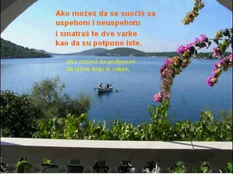 Poezija - Ako možeš (R. Kipling)