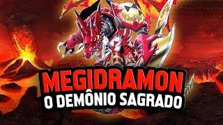 Megidramon chega ao Digimon Masters