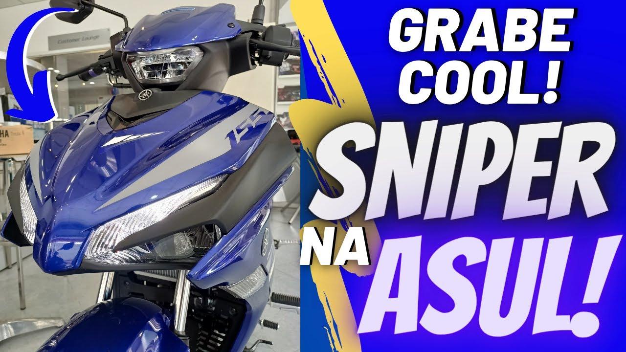 GRABE ANG COOL NITONG SNIPER 155 RACING BLUE 2021
