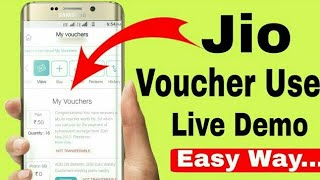 How To Use Jio Voucher | 50₹ Cashback On Jio Recharge | Live Demo | DK 4 You Technical.