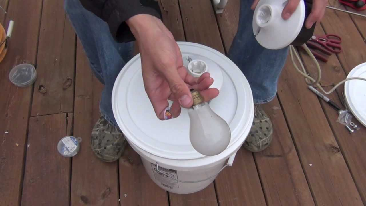 How To Build A Bucket Light Youtube
