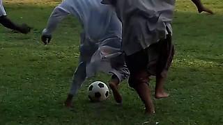 একি ফুটবল খেলা নাকি মারামারি