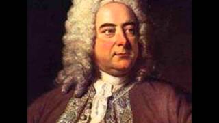 G.F. Handel -Harpsichord suite in D minor vol.2 No 4 HWV 437 Sarabande