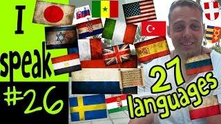 Alex speaks 27 languages