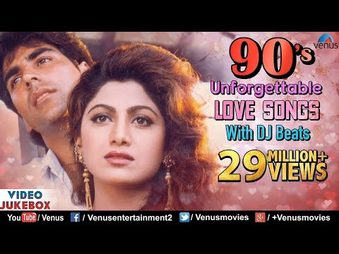 90S Unforgettable Hits : Romantic Love Sgs With JHANKAR BEATS   Jukebox  Hindi Sgs