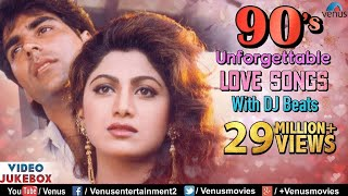 90'S Unforgettable Hits : Romantic Love Songs With JHANKAR BEATS | Video Jukebox - Hindi Songs thumbnail