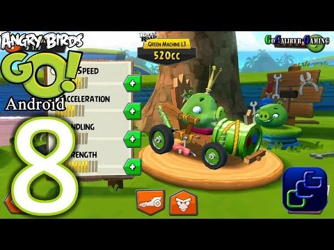 angry birds go android walkthrough part 26 stunt