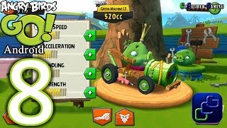 Angry Birds GO Android Walkthrough - Part 8 - Rocky Road: Track 2 Champion Chase