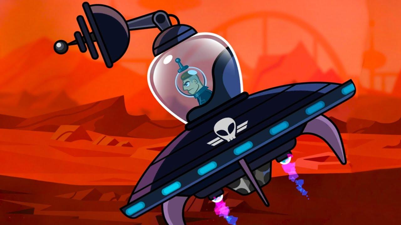 ТАНК ПОВЕЛИТЕЛЬ или Летающая тарелка в Хилс оф стил #26 Атака Марса с Кидом в Hills of steel на мк