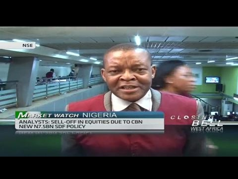Nigerian stocks continue to trade under pressure