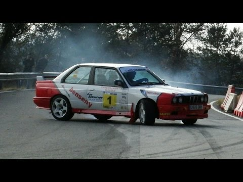 Rally Legend Les Corbes 2015 Full Attack, Show & Drift By Jaume Soler