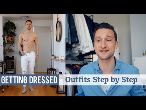 The Easiest Way to Style White Jeans | Men's Fashion | Getting Dressed Step by Step #26