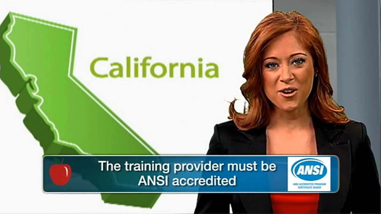 How To Get Your California Food Handler Card Youtube