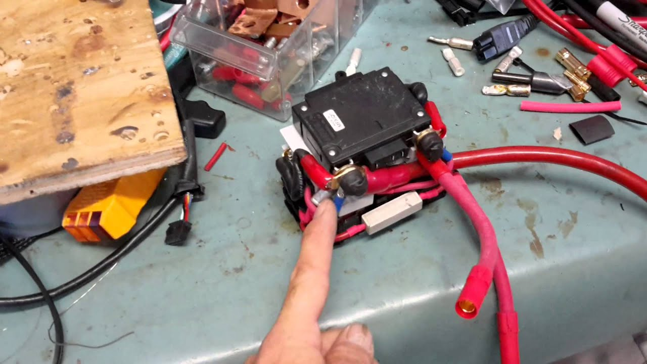 32kw Crazy Electric Bike Circuit Breaker Install Youtube Electrical Wiring