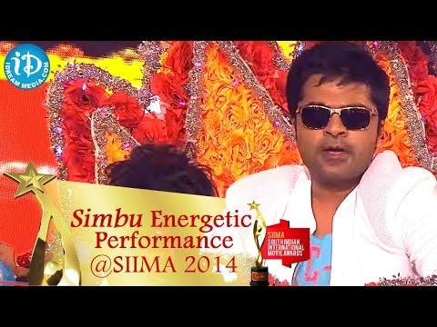 STR Simbu Energetic Dance Performance    SIIMA Awards 2014