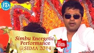 STR Simbu Energetic Dance Performance || SIIMA Awards 2014