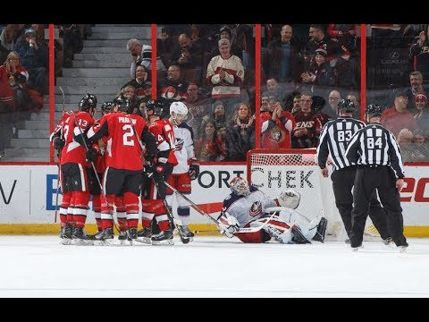 Game 36-Victory Dance-Ottawa Senators vs Columbus Blue Jackets 2017-18