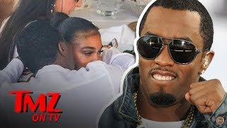 Diddy Hangs Out With Rumored Girlfriend Lori Harvey's Family in Italy | TMZ TV