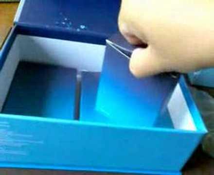 Unboxing the O2 XDA Zinc
