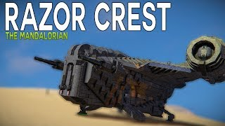 The RAZOR CREST - Star Wars The Mandalorian - Space Engineers