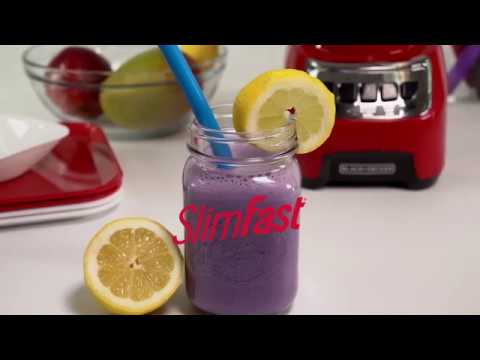 SlimFast Lemon Blueberry Smoothie