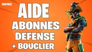 🔴 LIVE FORTNITE:AIDE ABONNES DEFENSE BOUCLIER SAUVER THE WORLD FR PS4/720P HD
