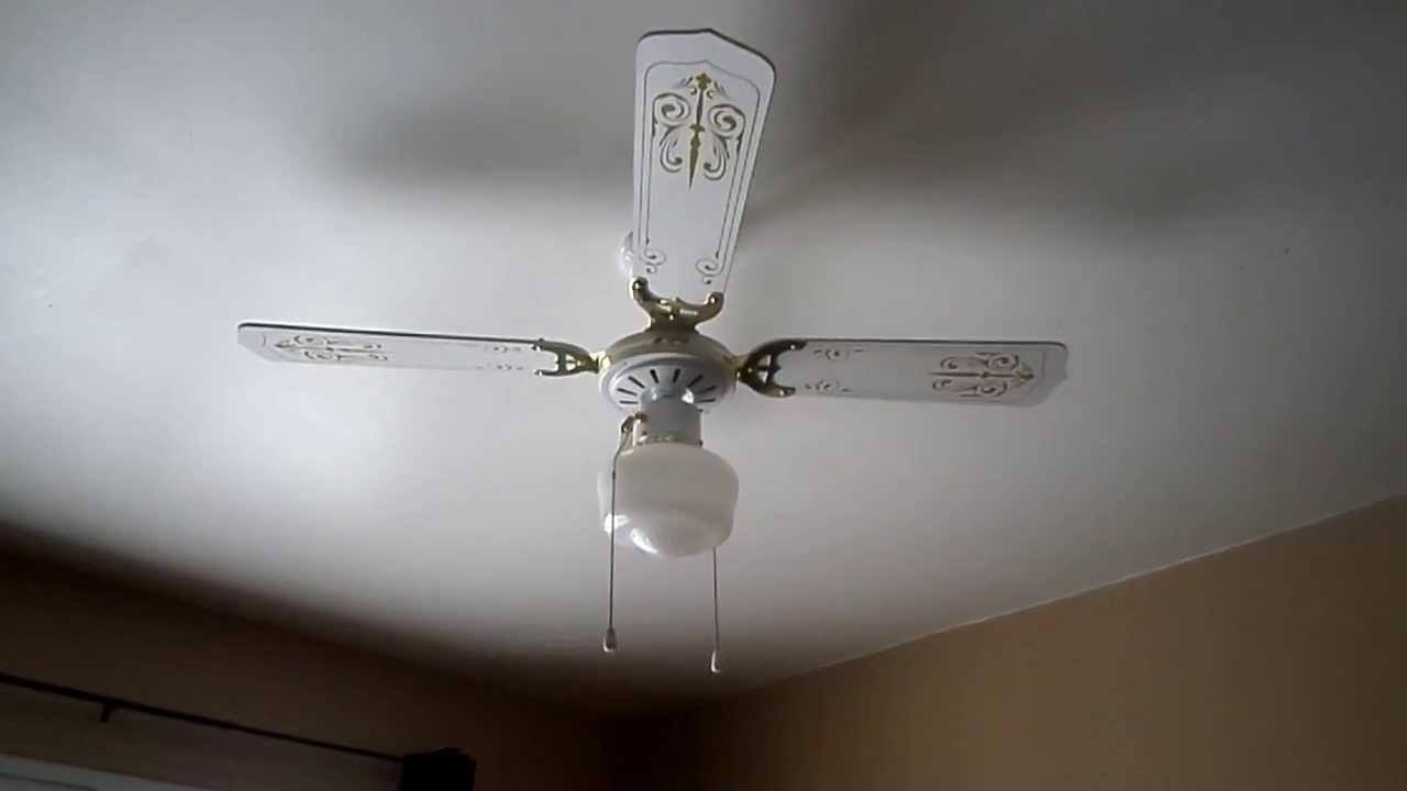 1992 J&P Manufacturing 42'' Ceiling Fan Model M42 - YouTube