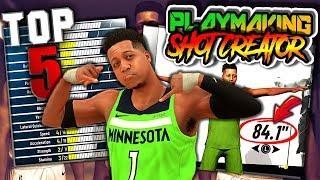 TOP 5 Reasons To Make A Playmaking Shot Creator - NBA 2K19 Xbox One X Gameplay