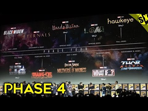 Phase 4 Is Officially Revealed | Thor 4 , Doctor Strange 2 , X-Men | Explained In Hindi