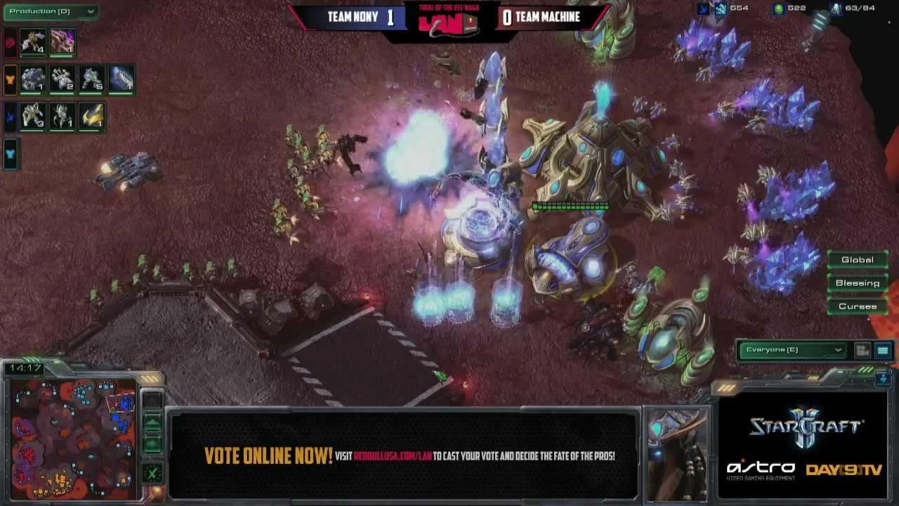 Team NonY vs Team Machine G2 Red Bull 8B