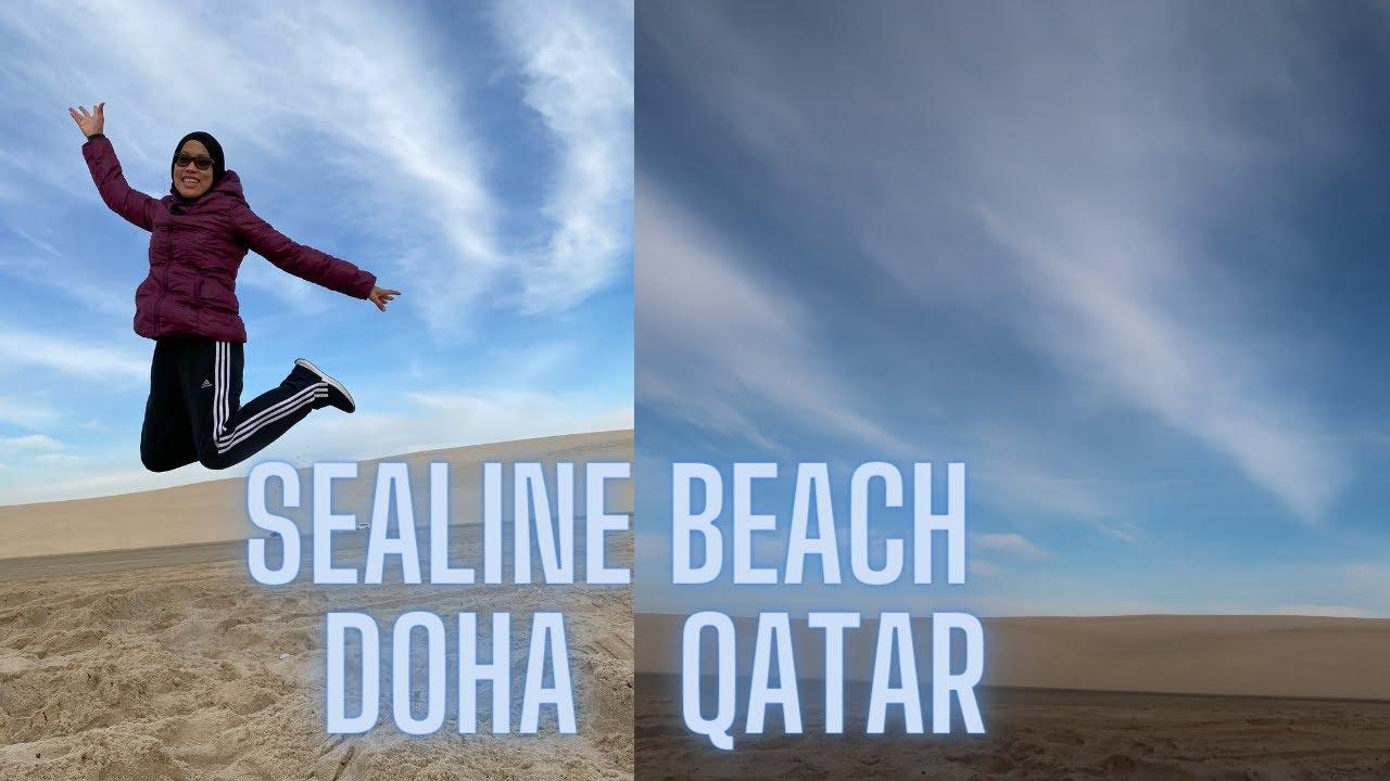 Sealine Beach Doha Qatar || 2021 VLOG1