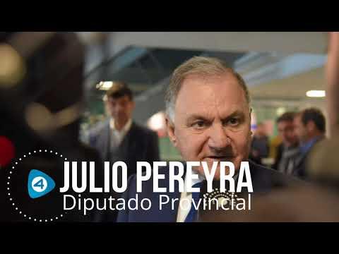 """Julio Pereyra repudió el recorte en el Hospital El Cruce y dijo: """"La salud es política de Estado"""""""