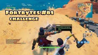 Secret Fortnite challenge FORTBYTES #81