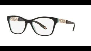 Tiffany 2130 Eyeglasses 8055 BLACK BLUE