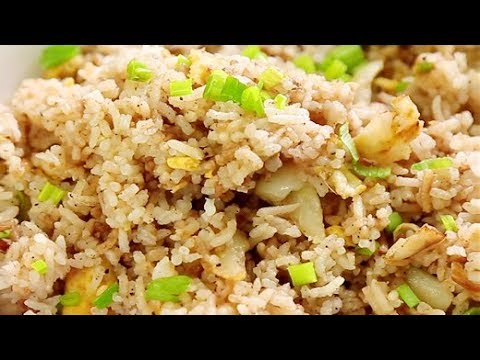 How To Make Garlic & Egg Fried Rice at Home | Simple Fried Rice Recipe | Quick & Easy Rice Recipe