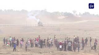شهيد وعشرات الإصابات في غزة