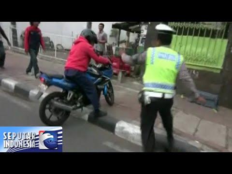 30 Pengendara Motor Ditilang Polisi, Karena Lawan Arus [Sindo Pagi] [14 Nov 2015] Mp3