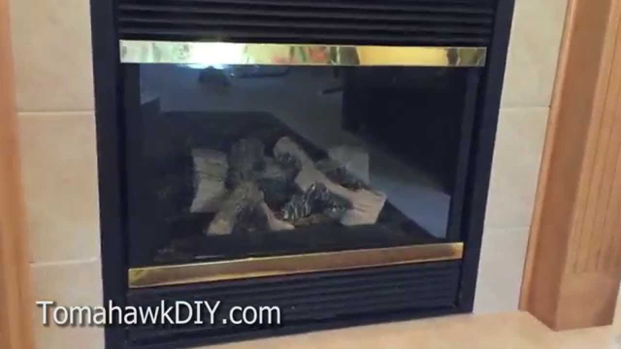 How to Clean Fireplace Glass (Get Rid of White Film on Gas ...