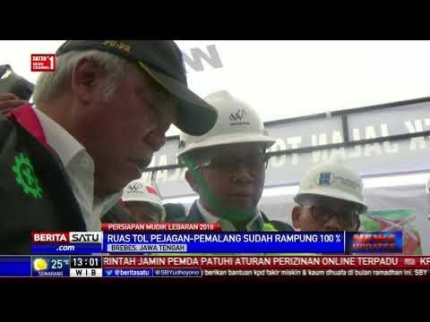 Menteri PUPR Pantau Kesiapan Tol Jelang Mudik Lebaran 2018