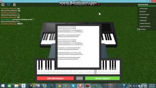 ROBLOX - Demons By Imagine Dragons - (Piano Version)