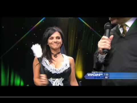 Denise Milani: Milani-Ween on WGN Morning News