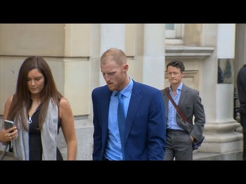 Cricketer Ben Stokes cleared of affray