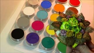 Altered Mason Jar Pressed Flower Harvest Candle Tutorial
