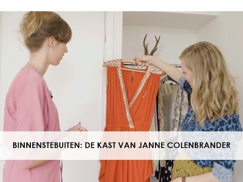 De kledingkast van Janne Colenbrander, expert in marketing en PR in boekenland